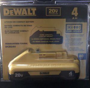 Dewalt battery 20v for Sale in Elverta, CA