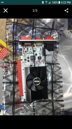 New brand new 2gb gaming video card msi n730k-2gd5lp/oc for Sale in Spring, TX