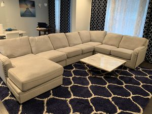 Ashley Luxora 5 piece Sectional couch with Chaise for Sale in Brentwood, NC