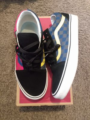 Vans multi color size 9 for Sale in Columbus, OH