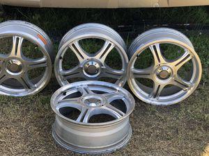 Four five spoke wheels for 2014 Jeep Patriot latitude for Sale in Marietta, GA