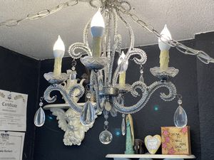 Four light chandelier for Sale in Port Orchard, WA