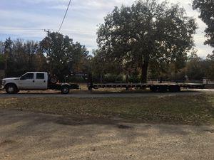Hot shot delivery 40ft gooseneck tandem trailer for Sale in Dallas, TX
