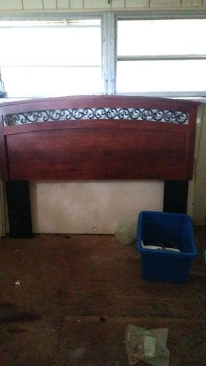 Cherrywood headboard for Sale in Tampa, FL