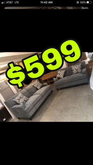 Beautiful new 2 piece sofa set(1 sofa & 1 loveseat) only 799$!!! Original price 1,519$!!! for Sale in San Leandro, CA