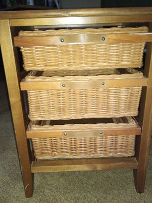 Wicker shelf for Sale in Brainerd, MN