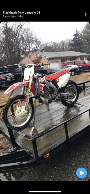 Crf450r 2007 for Sale in Trenton, NJ