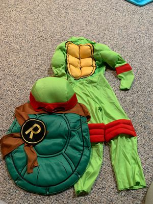Nindja turtle costume 3-4 years old! for Sale in Kenosha, WI