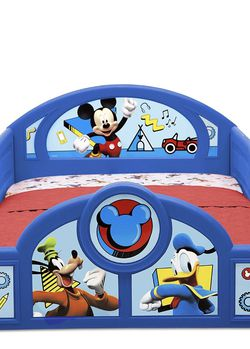 Mickeymouse toddler bed mattress INCLUDED for Sale in Hollywood,  FL