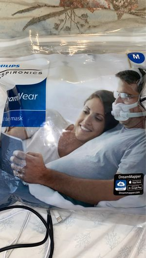 New Philips respironics dream wear CPap mask size m for Sale in Las Vegas, NV