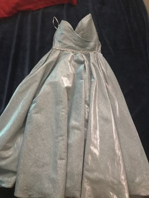 Strapless baby blue formal dress for Sale in Corona, CA