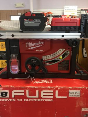 New Milwaukee M18 Fuel Table Saw Kit. 2736-21HD for Sale in Waltham, MA