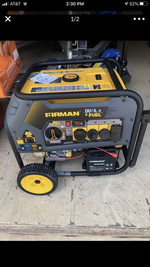 Generator firman 9400 watts enough to power entire house for Sale in SUNNY ISL BCH, FL