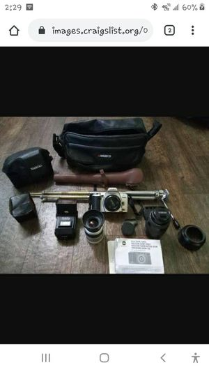 Vintage camera and accessories for Sale in Youngsville, LA