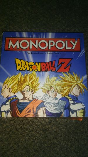 Dragon Ball Z Monopoly set for Sale in Sioux Falls, SD