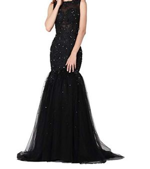 Vegeron Sexy Sheer Top Mermaid Lace Long Prom Dress for Women Formal for Sale in Rancho Cucamonga, CA