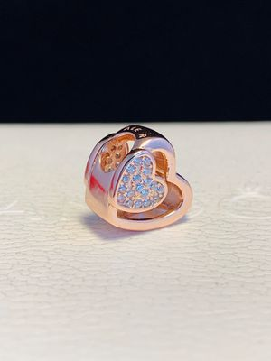 Authentic pandora rose gold charm for Sale in San Jose, CA
