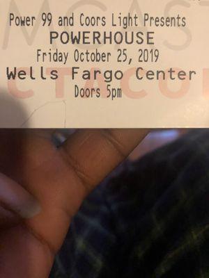 Power house ticket for Sale in Philadelphia, PA