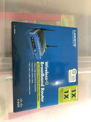 Linksys wireless-G broadband router for Sale in Clermont, FL