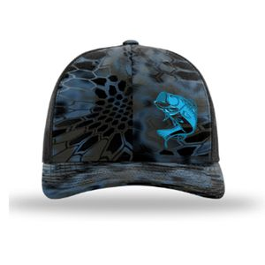 Bass fish - Kryptek Richardson 112p Trucker Cap - Custom Snapback Cap for  Sale in South 324ca4554f36