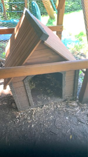 Wooden dog house for Sale in St. Charles, IL