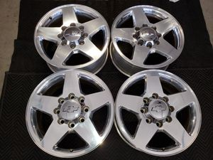 20 INCH FACTORY CHEVY CHEVROLET GMC WHEELS RIMS 8 LUG HD 2500 3500 for Sale in Moreno Valley, CA