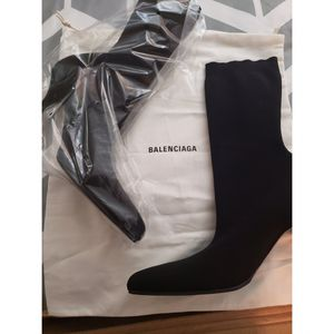 Balenciaga Round Toe Knit Ankle Boots for Sale in St. Louis, MO