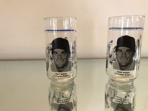 "1982 MLB LOS ANGELES DODGERS STEVE GARVEY ""THE BOYS"" COLLECTIBLE DRINKING GLASSES for Sale in Denver, CO"