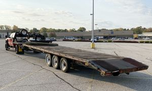 2012 31' Gooseneck Equipement Trailer for Sale in Bedford Heights, OH