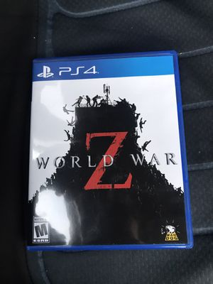 World War Z Game PS4 Brand New for Sale in Scottsdale, AZ
