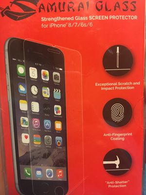 iPhone X iPhone 8 iPhone 7 iPhone 6 & 6s Screen Protectors for Sale in New Britain, CT