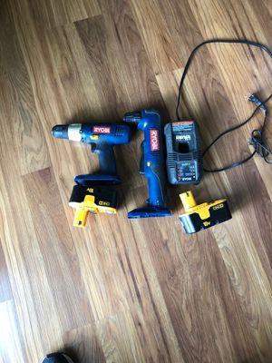 Ryobi drills for Sale in Spanaway, WA