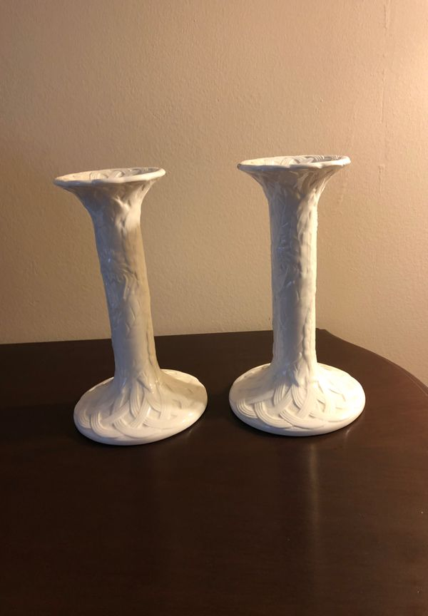 """Candle holders 8"""" high - $8"""