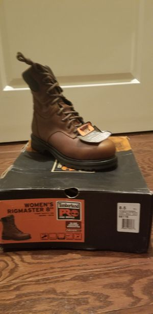 Womens Timberland 8 inch work boots size 8.5 for Sale in Baltimore, MD
