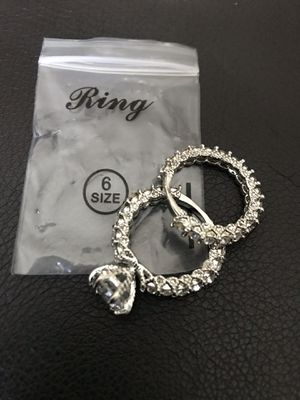 Wedding ring set brand new never used it ,, $ 25 dollar for Sale in Idaho Falls, ID
