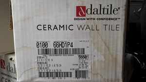 """Daltile ceramic wall tile 6"""" x 6"""" plus 2"""" tall trim and 4"""" x 4"""" pieces. for Sale in Lakeside, AZ"""