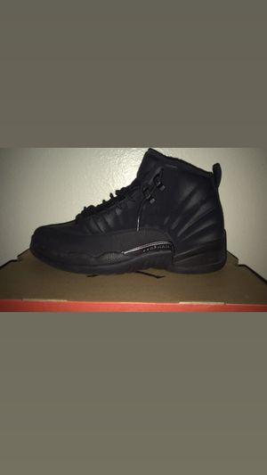 Jordan 12 retro winter black for Sale in Las Vegas, NV
