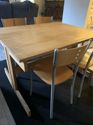 Dining Table of 4 $100 OBO for Sale in Long Beach, CA