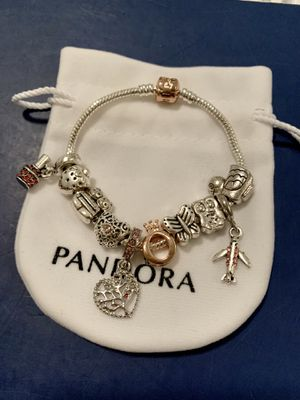 Girly Gold Rose Clasp Charm Bracelet for Sale in Tampa, FL
