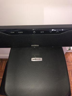 Polk audio sounds bar 5.1 for Sale in Boston, MA