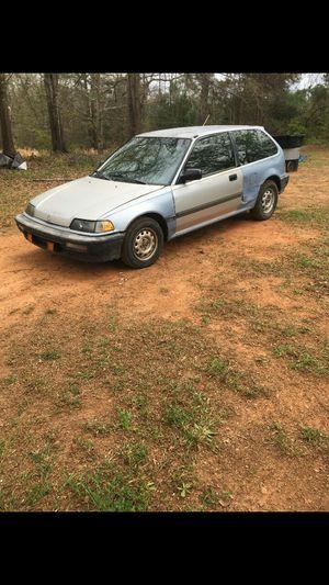 1989 Honda Civic DX hatchback for Sale in Griffin, GA
