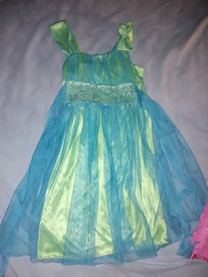 Aqua and teal spring dress for Sale in Purdy, MO
