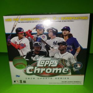Topps Chrome BASEBALL CARDS 2020 Update Series for Sale in Hacienda Heights, CA