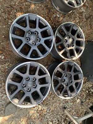 Jeep Wrangler wheels 18 inch for Sale in Mesquite, TX