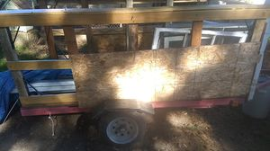 Utility trailer 2000 lb max imum load capacity single axel for Sale in Portland, OR