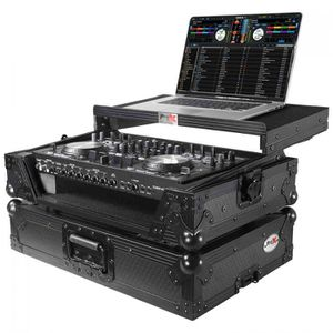 ProX XS-DNMC6000LTBL DJ Flight Case for Denon DNMC6000 - MC6000MK2 Digital Controller - Black on Black for Sale in Los Angeles, CA