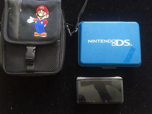 Nintendo Black 3DS w/ 4 Games case charger bag for Sale in Atlanta, GA