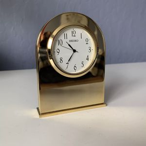 Seiko Vintage Analog Mirror Clock for Sale in Woodside, CA