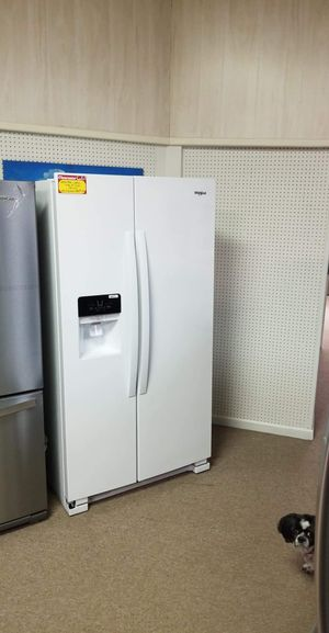 Brand New Whirlpool White Side By Side Refrigerator for Sale in Moyock, NC