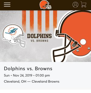 Cleveland browns tickets for Sale in Northfield, OH